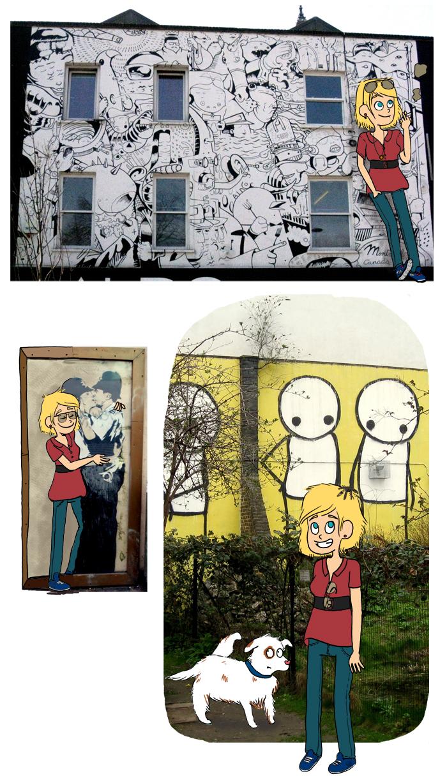 banksy street art londres